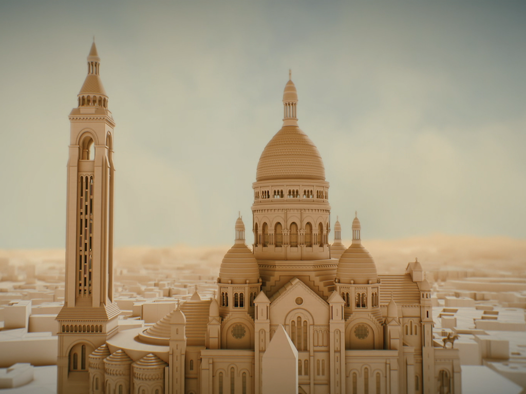 Legendary megastructure : Sacre-Coeur of Paris