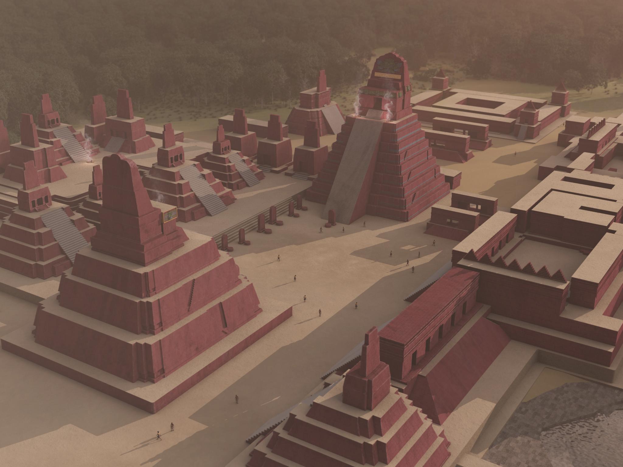 The mysterious Mayan cities : Tikal